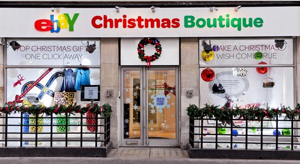 A Christmas pop-up shop (www.popupspaceblog.com)